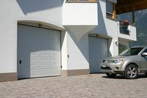 sectional automatic garage door SEZIONALE DITEC italia