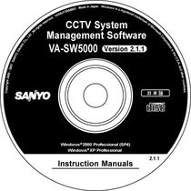 security and access control management software VA-SW5000 SANYO
