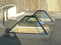 self-cleaning skylight ELONGATED Pyramid GLAZING VISION