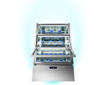 self-service refrigerated vertical display case KP12Q - LUXOR DOUBLE Sagi Spa