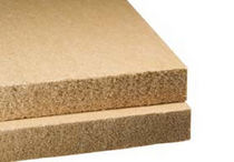 semi-rigid natural insulation panel in wood fiberboard for roofs PAVATHERM Pavatex