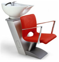 shampoo chair (wash unit) GAMMA STORE: L-TYPE RYA by Gamma Design Gamma & Bross