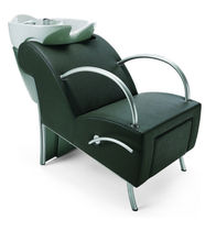 shampoo chair (wash unit, with footstool) FIRST CLASS: WASHLONGUE M by Gamma Design Gamma & Bross