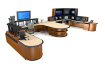 shared workstation for control room IDENTITY EVANS