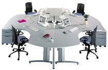 shared workstation for open plan office VITAL Samas