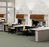 shared workstation for open plan office WORKZONE ® KI