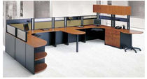 shared workstation for open plan office PS 801 Office Furniture Group
