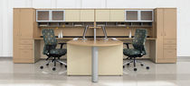 shared workstation for open plan office ADAPTABILITIES® GLOBAL totaloffice