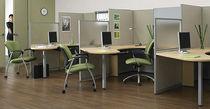 shared workstation for open plan office EO+ GLOBAL totaloffice