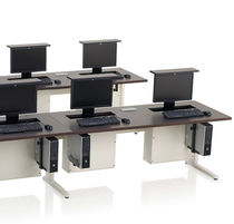 shared workstation with screen lift SMART LIFT�  KI