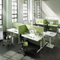 shared workstation for open plan office CEGANO C+P Moebelsysteme