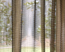 sheer curtain fabric QUADRATURE  CREATIONS METAPHORES