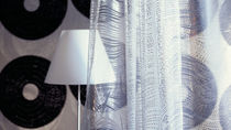 sheer curtain fabric NOIR ET BLANC Elitis