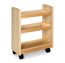 shelf with casters for libraries CROSSROADS KI