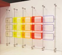 shop shelving FLUOSHOP WALL PAXTON