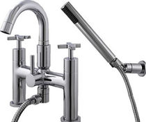 shower and bath-tub double handle mixer tap S 360 AG MONTEIRO