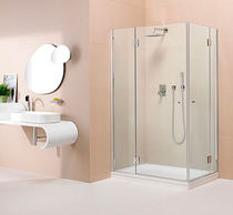 shower cabin with swing door SILIX BOX  calibe