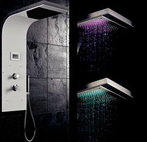 shower column with integrated light LOFT &amp; BATH KRAMER