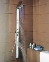 shower column with LED BRI1024W91 Neve rubinetterie