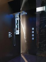shower column with LED YORK PANEL MUSIC - L00873 BOSSINI