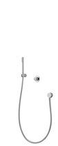 shower set with digital mixer tap (wireless transmission) ILSHA  aqualisa