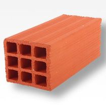 side construction block (hollow clay brick) TRADITIONAL Cer&aacute;mica Mazarr&oacute;n