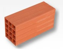 side construction block (hollow clay brick) RASILLON Cer&aacute;mica Mazarr&oacute;n