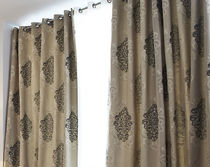 silk curtain fabric MIRAGE  CREATIONS METAPHORES