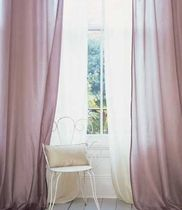 silk sheer curtain fabric CERANI ROMO