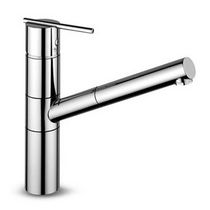 single handle mixer tap for kitchen with pull out spray SPIN - ZX3355 ZUCCHETTI RUBINETTERIA