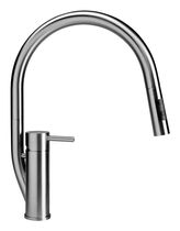 single handle mixer tap for kitchen with pull out spray RANDA KD MGS Progetti
