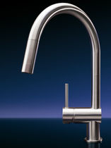 single handle mixer tap for kitchen VELA MGS Progetti