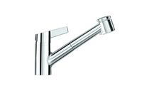 single handle mixer tap for kitchen with pull out spray SK SWAP SIMILOR KUGLER