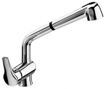 single handle mixer tap for kitchen with pull out spray DELTA MIX  0136 FARIS Rubinetterie