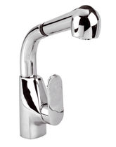 single handle mixer tap for kitchen with pull out spray ASTOR-E  Marti 1921
