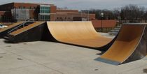 skatepark half-pipe ramp X-07 World Skate Parks