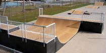 skatepark half-pipe ramp STEALTH-12 World Skate Parks