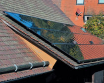 slanted-roof fixing system SERTUM SULFURCELL SOLARTECHNIK