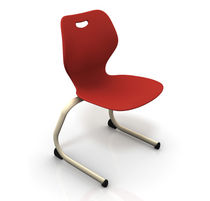 sled base chair for school INTELLECT WAVE KI