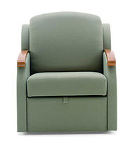 sleeper armchair for healthcare facilities AUBURN SLUMBER Nemschoff