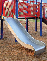 slide for playground STAINLESS STEEL DOUBLE little tikes