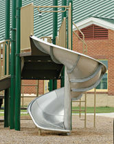 slide for playground STAINLESS STEEL SPIRAL little tikes