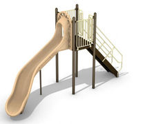 slide for playground CHUTE BYO Playground, Inc.