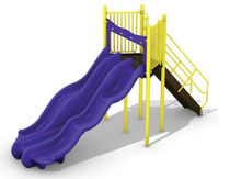 slide for playground ALPINE THUNDER BYO Playground, Inc.