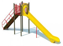 slide for playground EIGHT FOOT HIGH CHUTE BYO Playground, Inc.