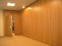 sliding acoustic partition PALACE 80 PARTHOS