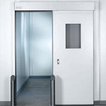sliding automatic door for cleanrooms PHARMA-SLIDE® SKF Rytec