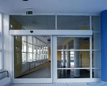 sliding automatic door for commercial buildings AS1 1A Ponzi s.r.l.