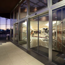 sliding automatic door for commercial buildings ECdrive GEZE