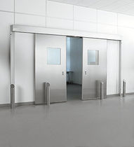 sliding automatic door for cleanrooms PHARMA-SLIDE® BKF Rytec